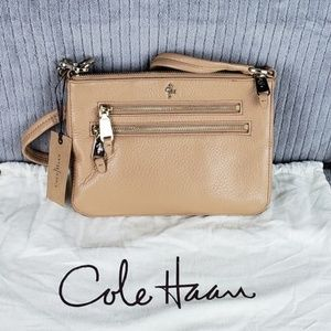 NWT Cole Haan Sheila Village Soft II Crossbody Bag